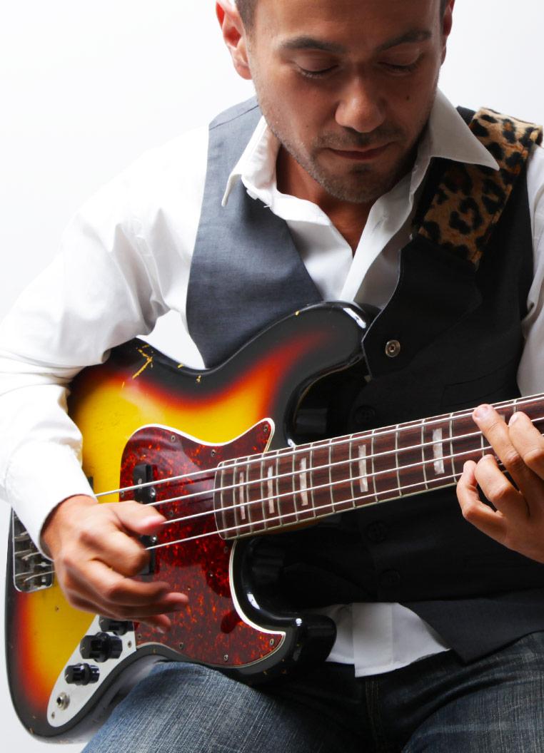la musique moi et ma Jazz Bass